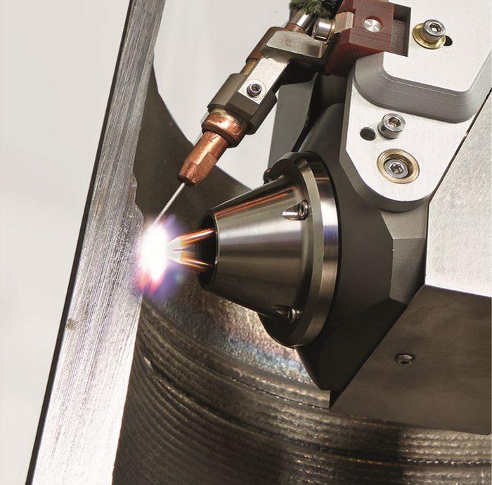 Arc welding cladding Weld Torch TIGer Bi-cathode