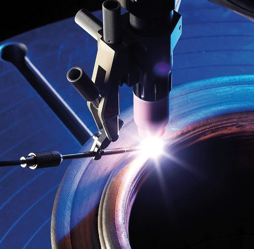 Weld overlay torch Polysoude Polyclad SPX